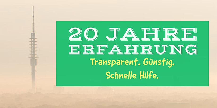 20 Jahre Schlüsseldienst in Hannover