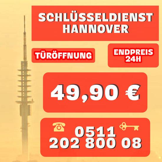 Schlüsseldienst Hannover Festpreis